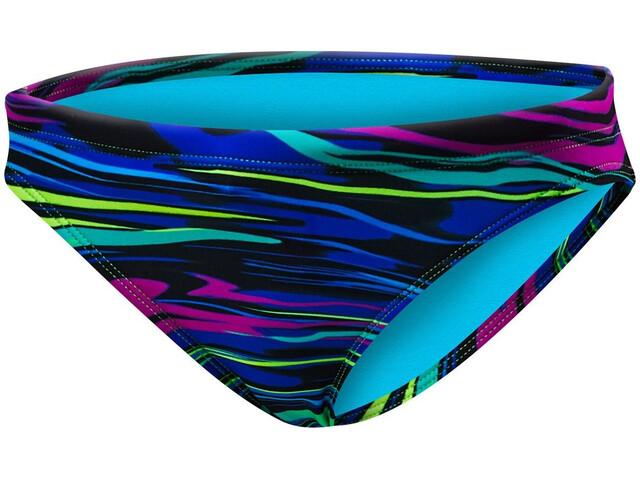 TYR Fresno Slip del bikini mini Mujer, blue/multi